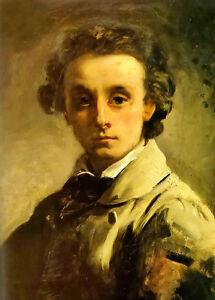 Dream-art Oil painting william lindsay windus - self portrait hand painted art