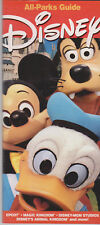 Original Disney Florida 2003 All-Parks Guide / Pamphlet / Leaflet MINT