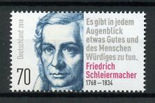 Germany 2018 MNH Friedrich Schleiermacher Theologian Philosopher 1v Set Stamps