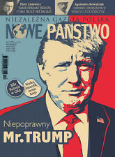 DONALD TRUMP on front cover Polish Magazine NOWE PANSTWO 12/2016