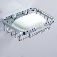 Bañera de pared de ducha de acero inoxidable plato de jabón cesta