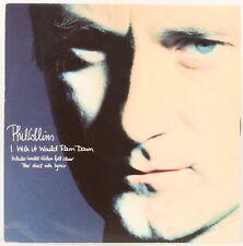 I Wish It Would Rain Down   Phil Collins  Vinyl Record