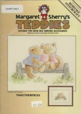 Togetherness Teddy Bears Margaret Sherry's Teddies Cross Stitch Pattern Leaflet