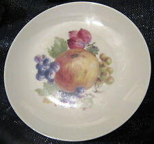 5x Winterling Marktleuthen Bavaria Fruit plates.  Approx 7 3/4 ins in diameter