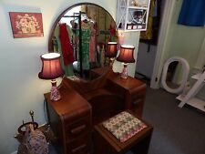 Vintage 1950s Small Table Lamp Set