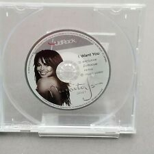 Janet Jackson RARE Lidrock 3' Cd I Want You Remix & Music Video Premium Soda Lid