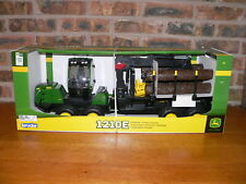 Bruder,John Deere 1210E Forwarder,360 Degree Rotate Cab,Hauler,4 Logs,09805,New