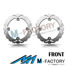 Front Brake Disc Rotor x2 Fit HONDA XL V 700 TRANSALP 08-11 08 09 10 11