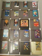 17 GAME LOT NES Nintendo ORIGINAL Games TESTED GUARANTEE SUPER MARIO BROS 1 link