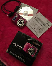 Sanyo S1414 14.0Mp Digital Camera Girls Womens New ‼�As Is ‼�For Parts or Repair