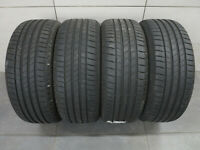 4x Sommerreifen Bridgestone Turanza T005 225/45 R18 91W MO / 6,2-7mm / DOT xx18