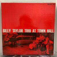 BILLY TAYLOR TRIO At Town Hall LP 1957 Prestige US DG PRESS RVG fireworks W 50th