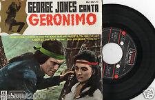 """GEORGE JONES - Geronimo + 3, EP 7"""" RARE SPAIN 1962"""