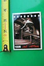 The FIRM Skateboards Jani Laitiala Photo Rail Z9 Vintage Skateboarding STICKER