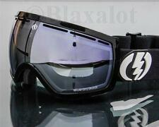 NEW ELECTRIC EG2.5 GOGGLES Gloss Black / Blue Silver Chrome Mirror Lens Ski Snow