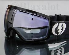 NEW ELECTRIC EG2.5 GOGGLES Gloss Black / Blue Silver Chrome Mirror Lens Ski Snow
