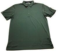 Travis Mathew Toyota Mens Gray Short Sleeve Golf Polo Shirt Size XL