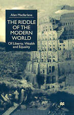 The Riddle of the Modern World: Of Liberty, Wealth and Equality-ExLibrary