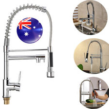 Kitchen Sink Swivel Spout Faucet Pull Down Spray Mixer Tap Chrome WATERMARK 2018
