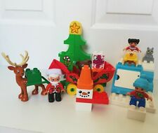 LEGO Duplo set Santa's Winter Holiday 2017 10837 100% complete Christmas