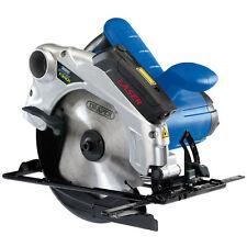 Draper Storm Force 1300W 185mm Circular Saw Adjustable Wood Cutting Power Tool