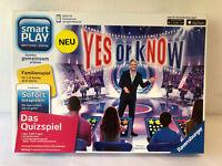 Yes or Know von Ravensburger Quizspiel Smart Play Digitales Brettspiel Familie