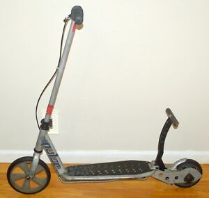 VINTAGE PULSE KICK 'N GO SCOOTER STEEL FRAME FOLDABLE BLACK PEDAL COLLECTIBLE!!