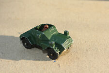Vintage Diecast Toy 1980 CORGI JUNIORS DAIMLER SCOUT CAR, Made in Great Britian.