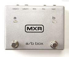 NEW DUNLOP MXR M196 TAP A/B BOX PEDAL w/ FREE CABLE 0$ US SHIPPING