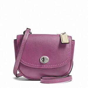NWT - Coach Park Leather Mini Crossbody - Rose - F49872
