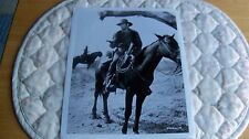1960's The Virginian photo Don Stroud on horse info on back