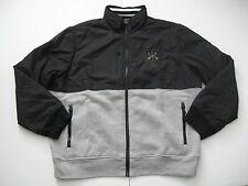 POLO RALPH LAUREN Men's Black/Grey Pieced Track Jacket XXL