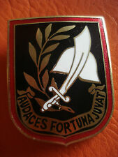 Portuguese Commands elite military unit Audaces Fortuna Juvat rare enamel badge