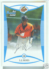 L.J. Hoes Baltimore Orioles 2008 Bowman Draft Prospects