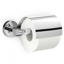 Zack - Scala Stainless Steel Toilet Roll Holder with Lid - 40051