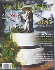 Wedding Star Magazine Cake Toppers Favor Finds Table Settings Centerpieces Veils