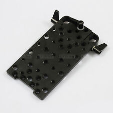 Rod Clamp Vertical Mounting Cheese Plate Base fr 15mm Rod Support DSLR Rig Rail