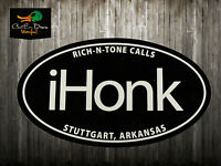 RNT RICH-N-TONE iHONK DECAL STICKER LOGO DUCK GOOSE CALL
