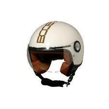 CASQUE JET MOTO SCOOTER QUAD VESPA VINTAGE MARRON / XL Réf BS 02326