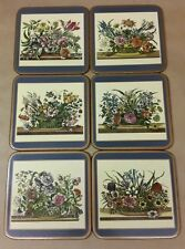 Cork French Country Floral Coasters