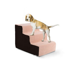 DOG i passaggi da 3 Ladder SOFT scale LAVABILE MORBIDO BEIGE COPERTA CANE / GATTO ANIMALE diagramma Ladder