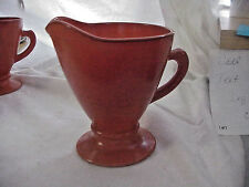 COLLECTIBLE VINTAGE HAZEL ATLAS OVIDE CREAMER
