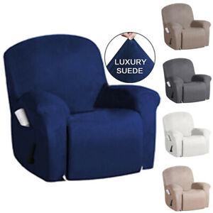 Recliner Slipcover Arm Couch Cover Furniture Chair Single Sofa Cover with Pocket