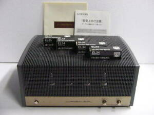 LUXMAN MQ-30s tube type stereo power amplifier with spare vacuum tube