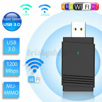 1200Mbps USB Kabellos Wifi Adapter Dongle Dualband 5G/2.5G bluetooth 5.0 P