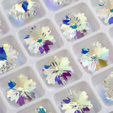 20Pcs Creative Snowflake Charms For Bracelet Jewelry DIY Crafts Making Pandants