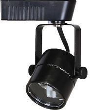 Direct-Lighting 50010 Black MR16 Cylinder Low Voltage Track Lighting Fixture