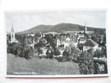 AK Löbau mit Löbauer Berg