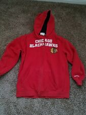 youth reebok Chicago blackhawks size M (10-12) embroidery
