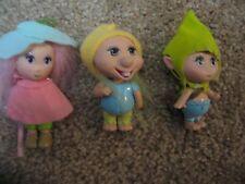 Mattel  Fairytopia Elf Pixie or troll type doll lot of 3 2004